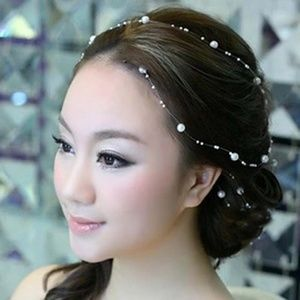 Bridal / Prom Pearl Headpiece Jewelry